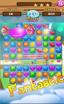 Candy Paradise Jam Match 3 Game screenshot 1