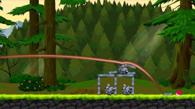 Shooting Pokeballs Hunter Poké apk screenshot