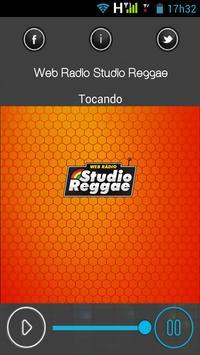 Web Rádio Studio Reggae screenshot 1