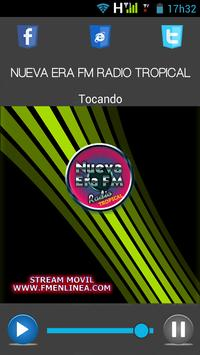 NUEVA ERA FM RADIO TROPICAL poster