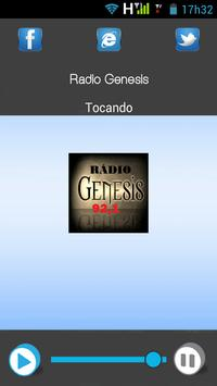 Rádio Gênesis poster