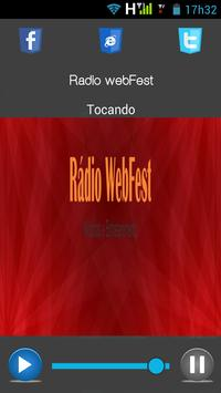 Rádio WebFest apk screenshot