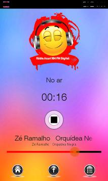 Rádio Acari 104 fm poster