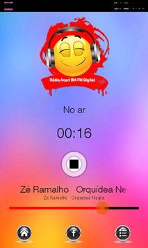 Rádio Acari 104 fm apk screenshot
