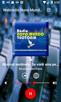 Webradio Novo Mundo Teutonia screenshot 1