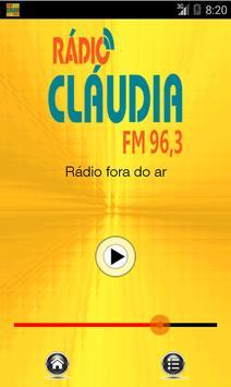 Cláudia FM poster