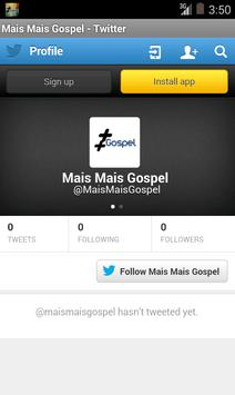 MaisMaisGospel screenshot 3