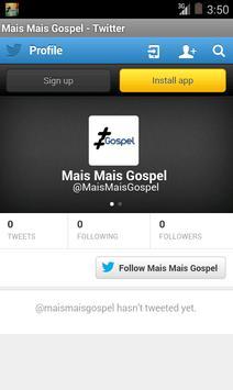 MaisMaisGospel screenshot 7