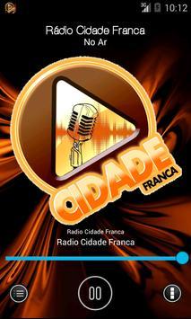 Rádio Cidade Franca apk screenshot