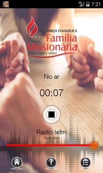 Rádio IEFM poster