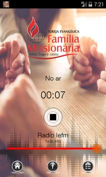 Rádio IEFM screenshot 2
