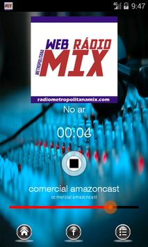 Rádio Metropolitana Mix apk screenshot