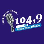 Rádio Novo Milênio 104,9 FM icon