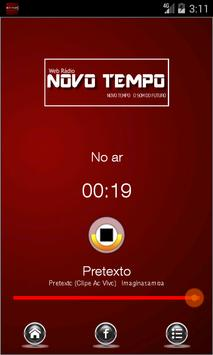 Web Rádio Novo Tempo screenshot 1