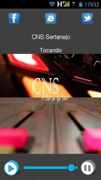 CNS Sertanejo apk screenshot