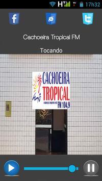 Cachoeira Tropical FM apk screenshot