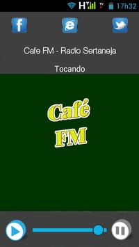 Café FM - Rádio Sertaneja apk screenshot