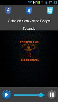 Carro de Som Zezão Gospel poster
