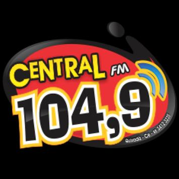 Central FM Quixada poster