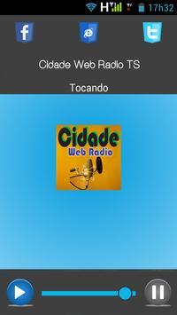 Cidade Web Rádio screenshot 1