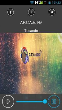 Web Rádio A.R.C.Adio FM poster