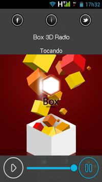 Box 3D Radio poster