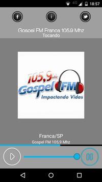 Gospel FM Franca 105,9 poster