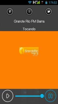 Rádio Grande Rio FM Barra apk screenshot