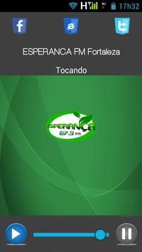 ESPERANÇA FM Fortaleza apk screenshot