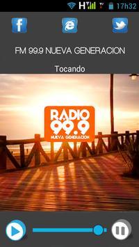 FM 99.9 NUEVA GENERACION screenshot 1