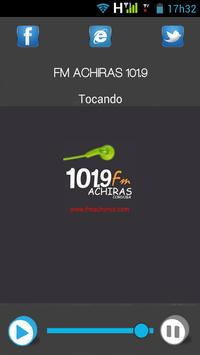 FM ACHIRAS 101.9 poster