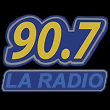 FM LA RADIO 90.7Mhz poster