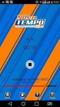 FM NOVO TEMPO DE ITAPIPOCA poster
