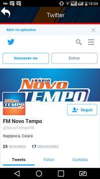 FM NOVO TEMPO DE ITAPIPOCA screenshot 2