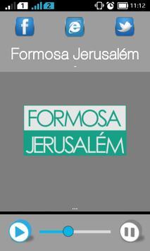 Formosa Jerusalém poster
