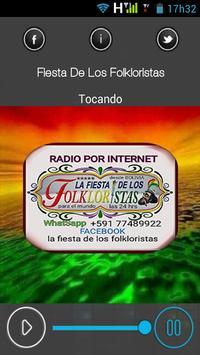 La Fiesta De Los Folkloristas poster
