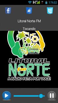 Litoral Norte FM poster