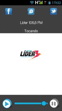 Lider 105,5 FM screenshot 1