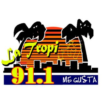 Luz Tropi FM 91.1 Mhz poster