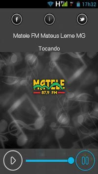 Matele Fm Mateus Leme MG apk screenshot