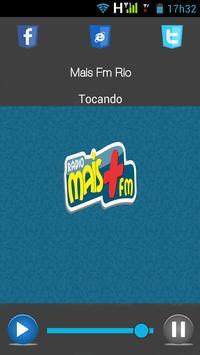 Mais Fm Rio screenshot 1
