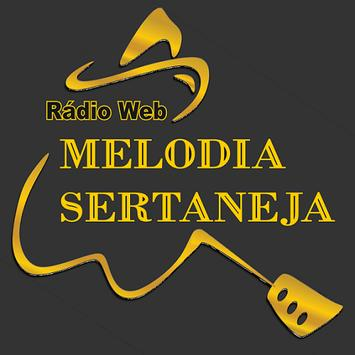 Radio Melodia Sertaneja poster