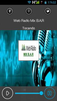 Web Radio Mix B.A.R apk screenshot