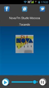 Nova FM Studio Mococa poster
