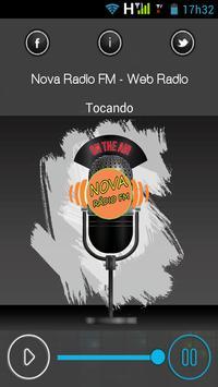 Web Rádio Nova Rádio FM screenshot 1