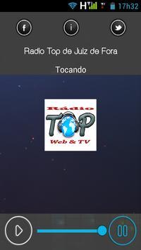 Rádio Top Juiz de fora apk screenshot