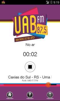 Rádio UAB FM 87.5 screenshot 1