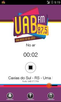 Rádio UAB FM 87.5 screenshot 2