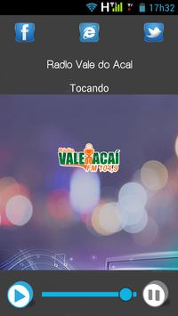 Rádio Vale do Acaí screenshot 1