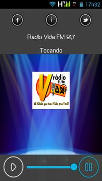 Radio Vida FM 91,7 poster